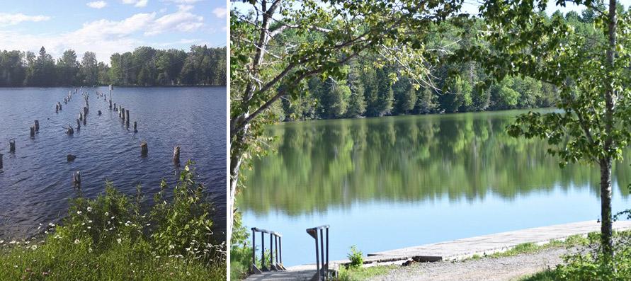 Lac Blanc et Lac Noir